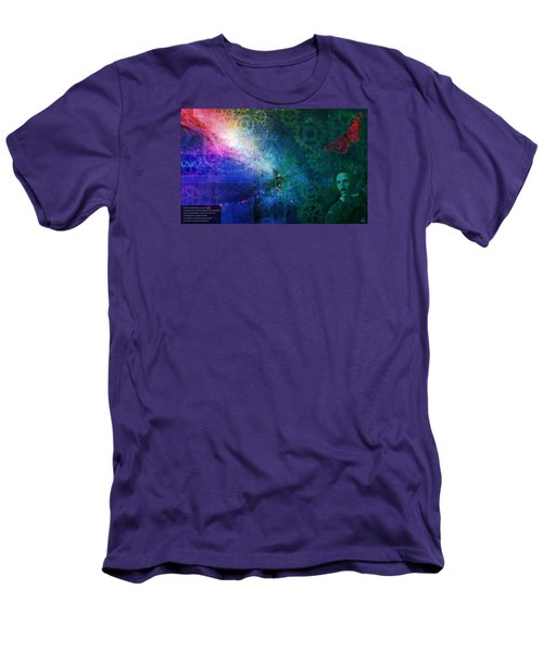 The Butterfly Effect Men's T-Shirt (Slim Fit) by Kenneth Armand Johnson