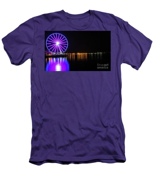 The Seattle Ferris Wheel Men's T-Shirt (Athletic Fit)