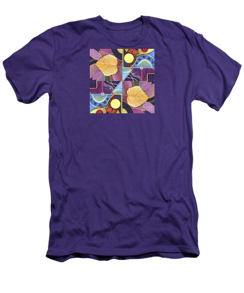 Time Goes By - The Joy Of Design Series Arrangement Men's T-Shirt (Slim Fit) by Helena Tiainen