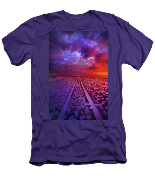 Men's T-Shirt (Slim Fit) featuring the photograph To All Ends Of The World by Phil Koch
