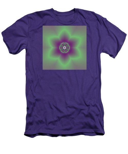 Transition Flower 6 Beats 2 Men's T-Shirt (Slim Fit) by Robert Thalmeier