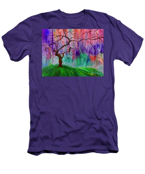 Tree Of Life 11 Men's T-Shirt (Athletic Fit)