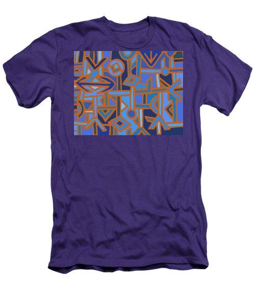 Tribal Kuba Traffic Men's T-Shirt (Athletic Fit)