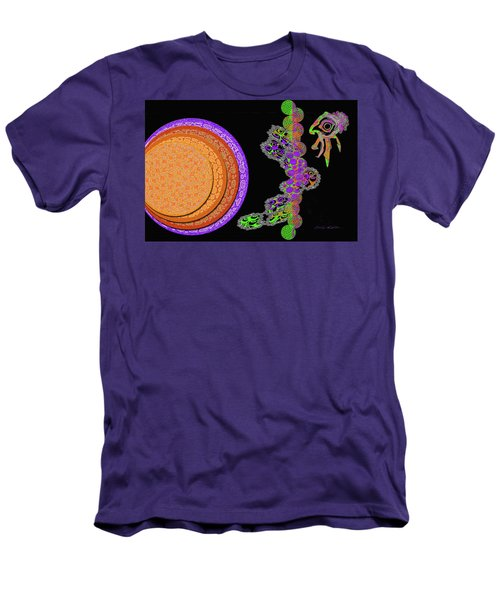 Tropical Dreams Men's T-Shirt (Athletic Fit)