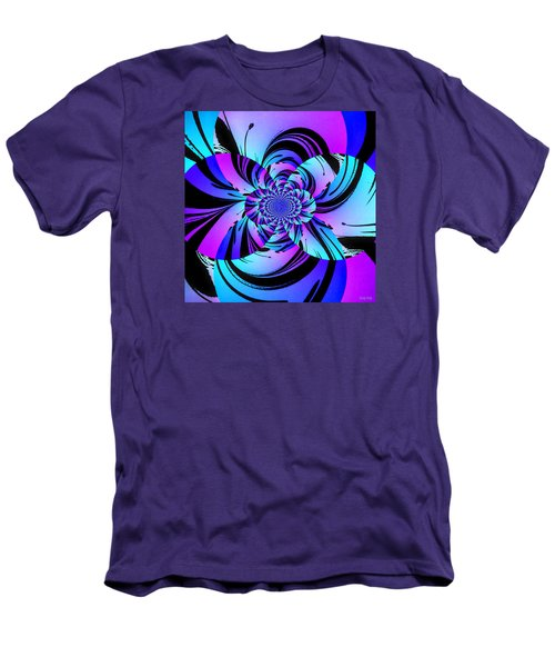 Men's T-Shirt (Slim Fit) featuring the digital art Tropical Transformation by Kathy Kelly