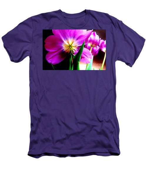 Tulip Time Men's T-Shirt (Slim Fit) by Tim Townsend