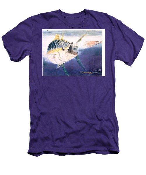 Tuna To The Lure Men's T-Shirt (Slim Fit) by Bill Hubbard