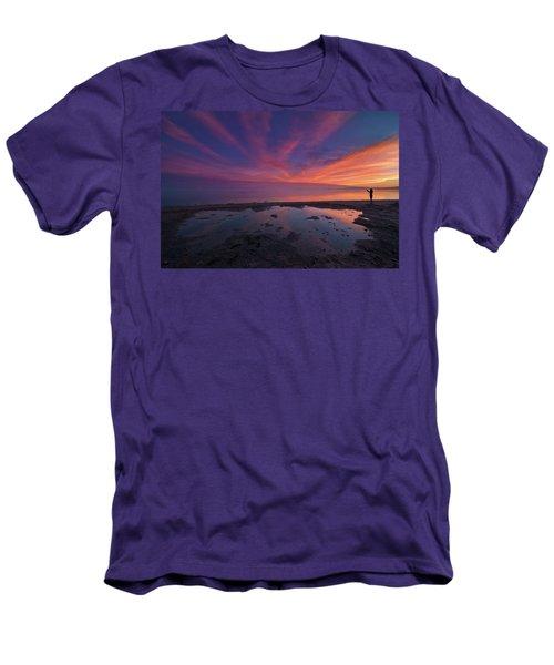 Twilight Time Men's T-Shirt (Athletic Fit)