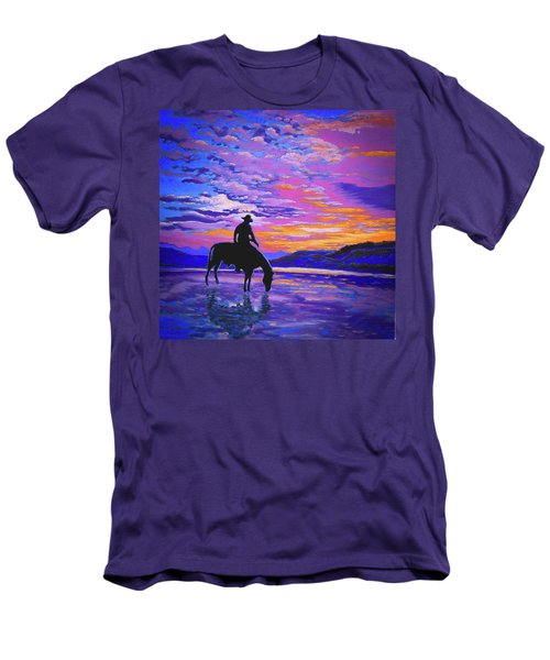 We And Still Waters Men's T-Shirt (Athletic Fit)