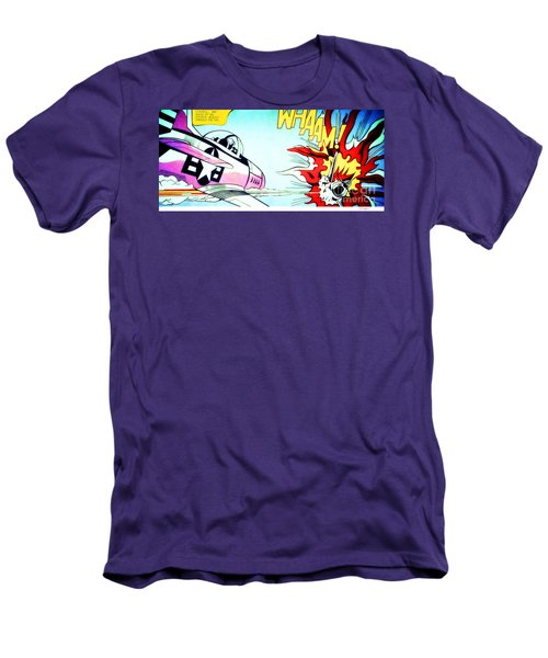 Whaam - Signed  Men's T-Shirt (Athletic Fit)