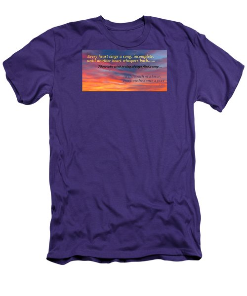 Men's T-Shirt (Slim Fit) featuring the photograph Whisper by David Norman