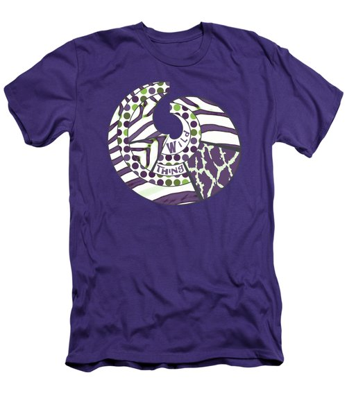 Men's T-Shirt (Slim Fit) featuring the digital art Wild Thing by Methune Hively