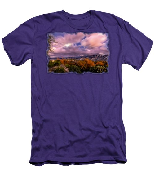 Winter Colors 25 Men's T-Shirt (Slim Fit) by Mark Myhaver
