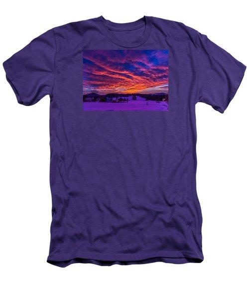 Winter Sunrise Men's T-Shirt (Slim Fit) by Tim Kirchoff