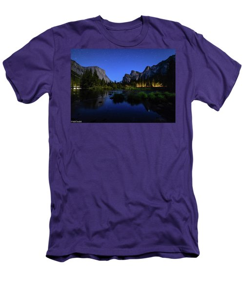 Yosemite Nights Men's T-Shirt (Athletic Fit)