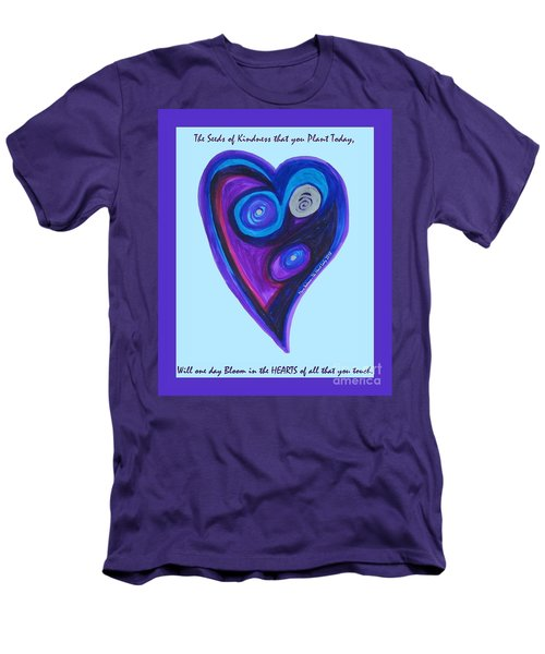 Zen Heart Vortex Men's T-Shirt (Athletic Fit)