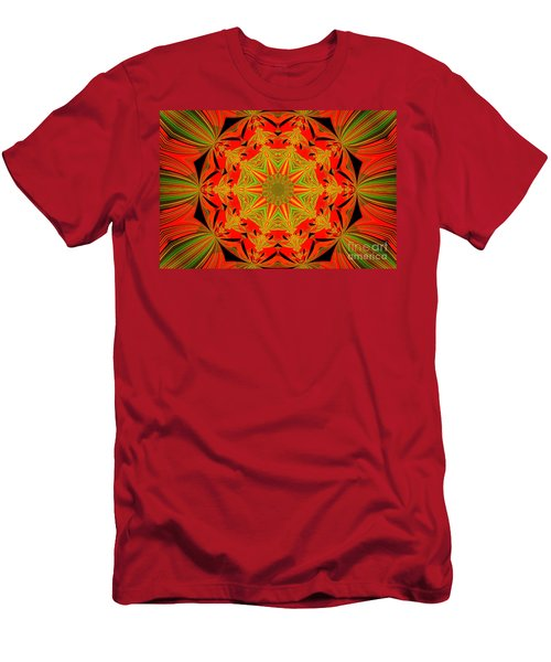 Brighten Your Day.unique And Energetic Art Men's T-Shirt (Athletic Fit)