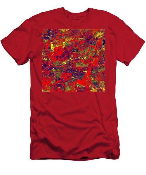 0384 Abstract Thought Men's T-Shirt (Athletic Fit)