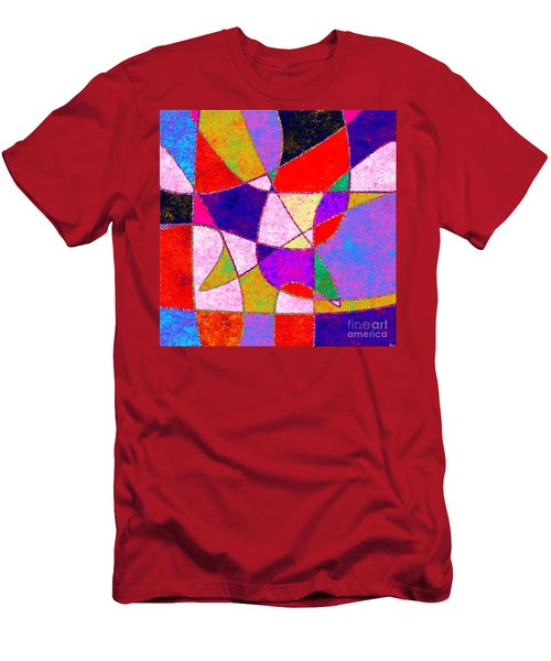 0269 Abstract Thought Men's T-Shirt (Athletic Fit)