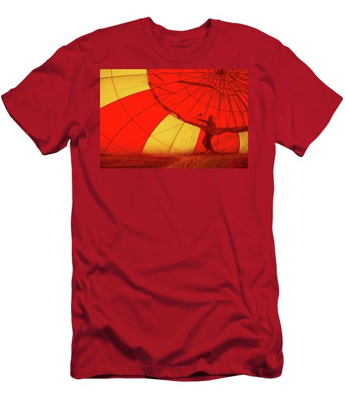 Men's T-Shirt (Slim Fit) featuring the photograph Balloon Fantasy 2 by Allen Beatty