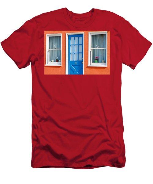 Beach Cottage Men's T-Shirt (Athletic Fit)