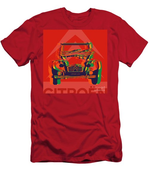 Citroen 2cv Men's T-Shirt (Athletic Fit)