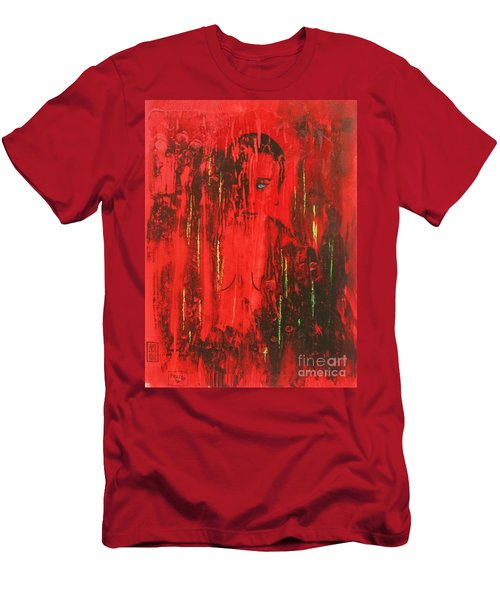 Dantes Inferno Men's T-Shirt (Slim Fit) by Roberto Prusso
