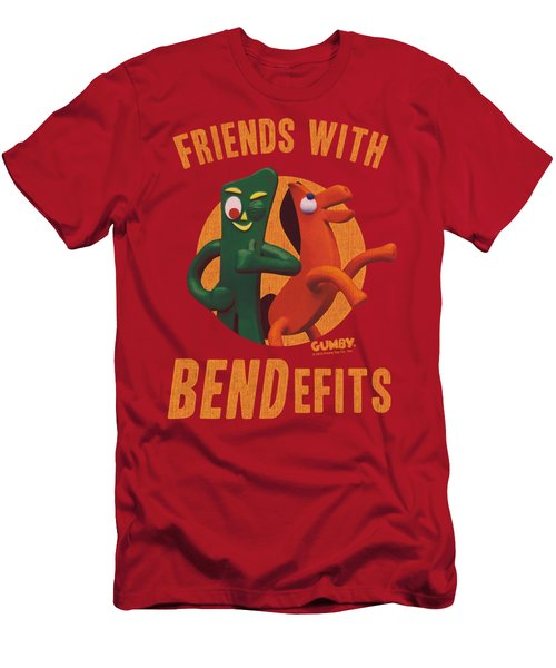 Gumby - Bendefits Men's T-Shirt (Athletic Fit)