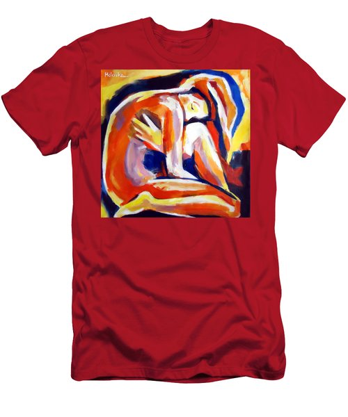 Innerthoughts Men's T-Shirt (Slim Fit) by Helena Wierzbicki