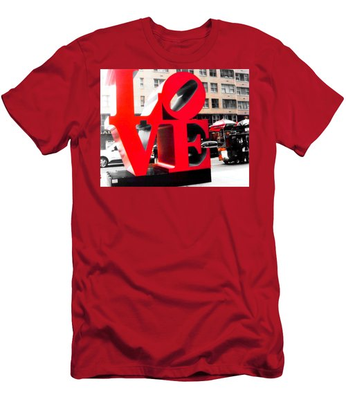 Men's T-Shirt (Slim Fit) featuring the photograph Love by J Anthony