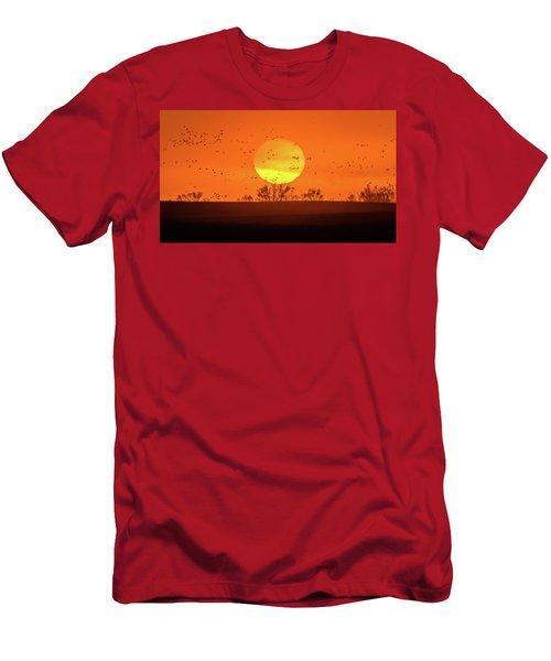 March 8, 2017 - Grand Island, Nebraska Men's T-Shirt (Athletic Fit)