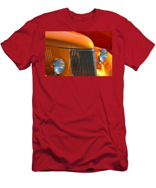 Orange Hotrod Men's T-Shirt (Athletic Fit)