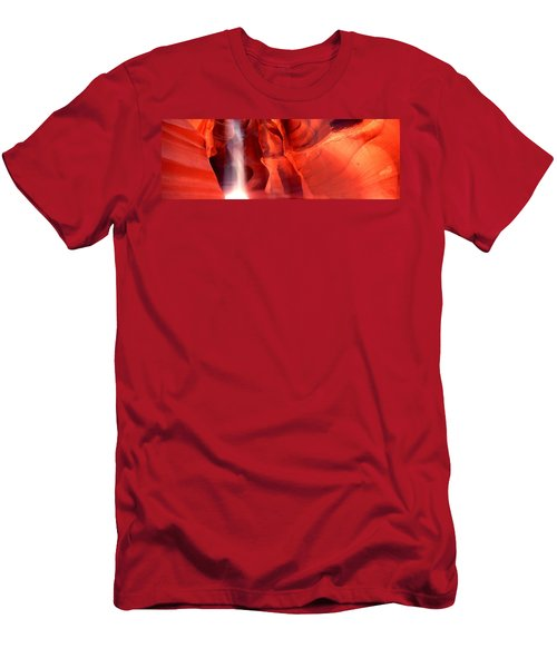 Rock Formations In A Canyon, Antelope Men's T-Shirt (Athletic Fit)