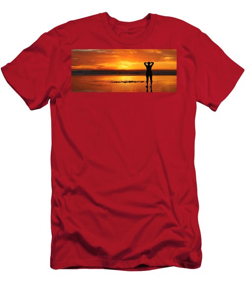 Seaside Reflections  Men's T-Shirt (Athletic Fit)