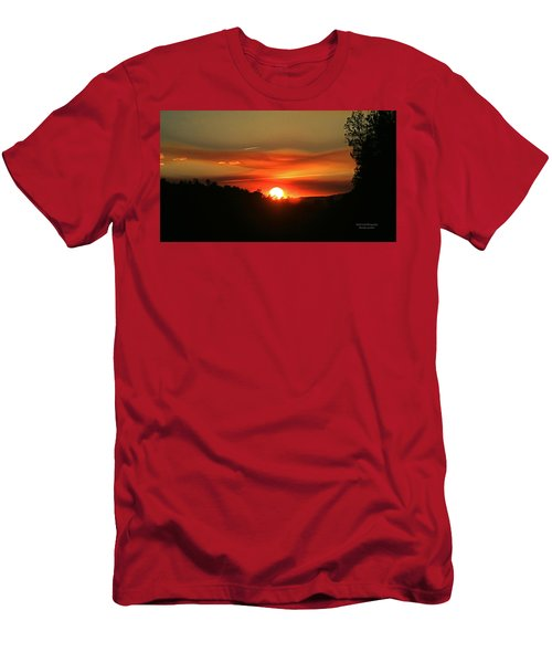 Smokin' Payson Sunset Men's T-Shirt (Athletic Fit)