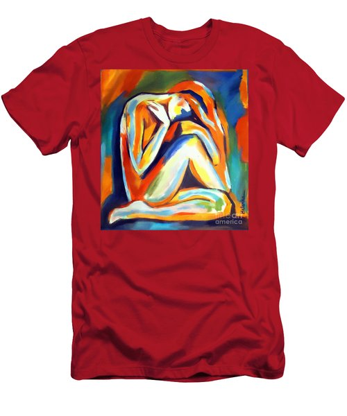 Solitude Men's T-Shirt (Slim Fit) by Helena Wierzbicki