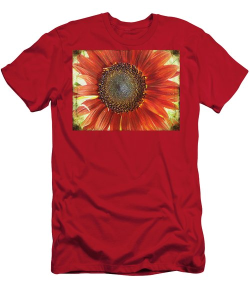 Men's T-Shirt (Slim Fit) featuring the photograph Sunflower by Kathy Bassett