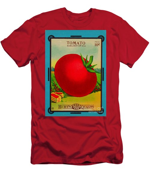 Tomato Seed Package. Antique. 100 Years Old Men's T-Shirt (Athletic Fit)