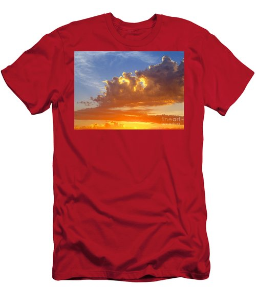 Men's T-Shirt (Slim Fit) featuring the photograph To God Be The Glory by Robert Pearson