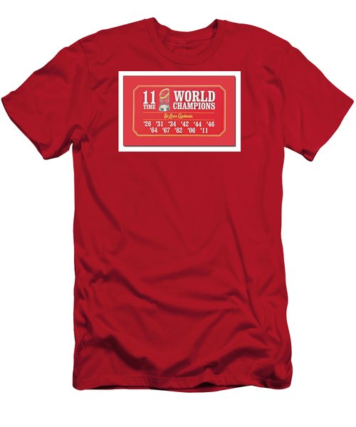 11 Time World Chapion Poster Dsc01106 Men's T-Shirt (Slim Fit) by Greg Kluempers