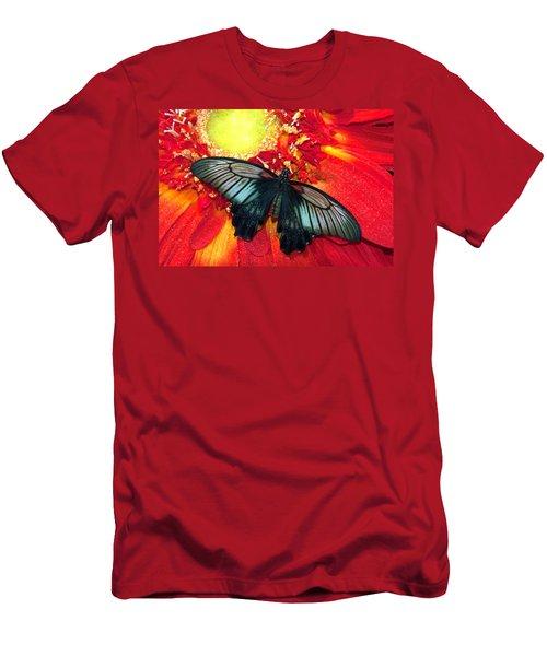 Butterfly Men's T-Shirt (Slim Fit) by Tam Ryan