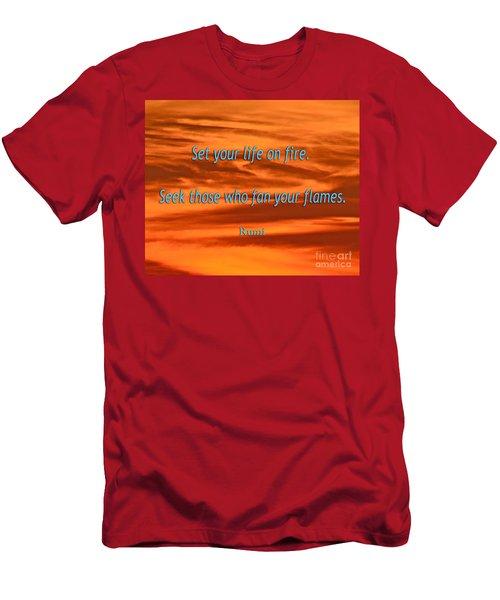 120- Rumi Men's T-Shirt (Athletic Fit)