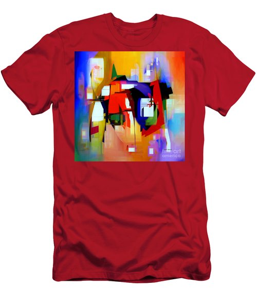 Abstract Series Iv Men's T-Shirt (Athletic Fit)