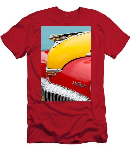1946 Desoto Skyview Taxi Cab Hood Ornament Men's T-Shirt (Athletic Fit)