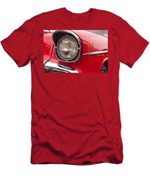 1957 Chevrolet Bel Air Headlight Men's T-Shirt (Athletic Fit)