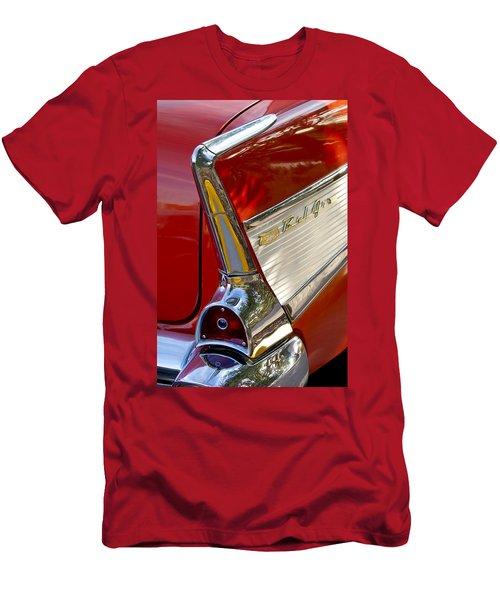 1957 Chevrolet Belair Taillight Men's T-Shirt (Athletic Fit)