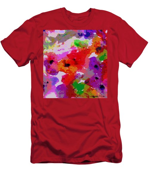 Men's T-Shirt (Slim Fit) featuring the painting A Little Watercolor by Jamie Frier