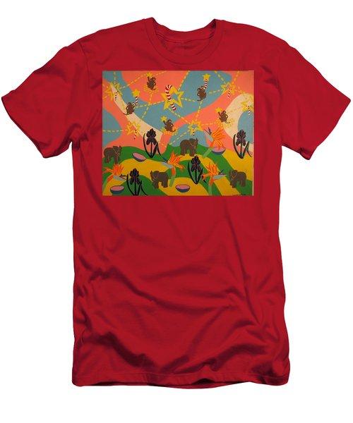 Almost Paradise Men's T-Shirt (Athletic Fit)