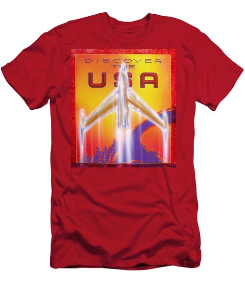 Discover The Usa Men's T-Shirt (Athletic Fit)
