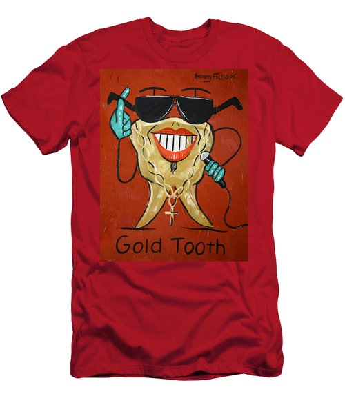 Gold Tooth Men's T-Shirt (Athletic Fit)